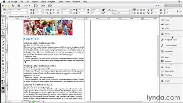 Adding video to the EPUB: InDesign CS6 to EPUB, Kindle, and iPad