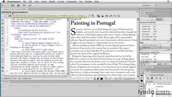 Using Dreamweaver to edit EPUBs: InDesign CS6 to EPUB, Kindle, and iPad