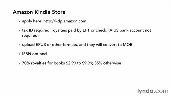 Getting your ebook into the Kindle Store, iBookstore, or NOOK Store: InDesign CS6 to EPUB, Kindle, and iPad