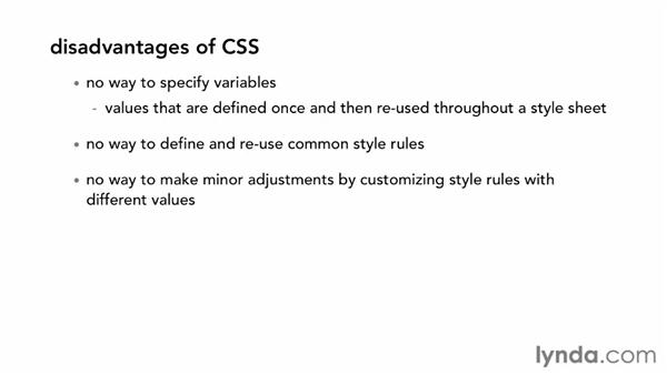 What are LESS and Sass?: CSS with LESS and Sass