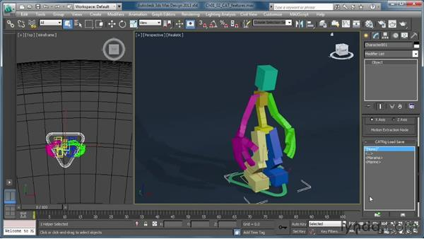 Locating CAT features in the 3ds Max user interface: Getting Started with CAT Rigging Tools in 3ds Max