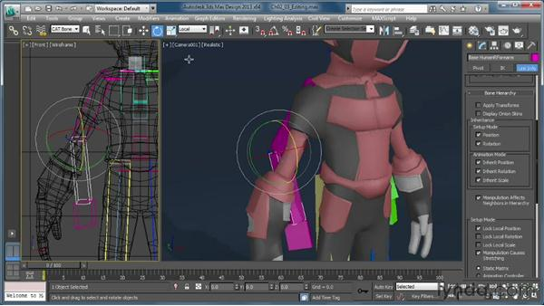 Editing the preset rigs: Getting Started with CAT Rigging Tools in 3ds Max