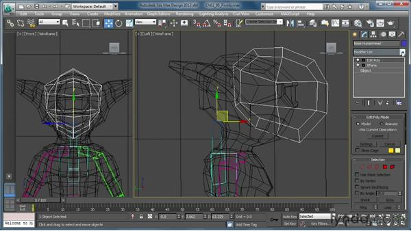 Repositioning bone pivots: Getting Started with CAT Rigging Tools in 3ds Max