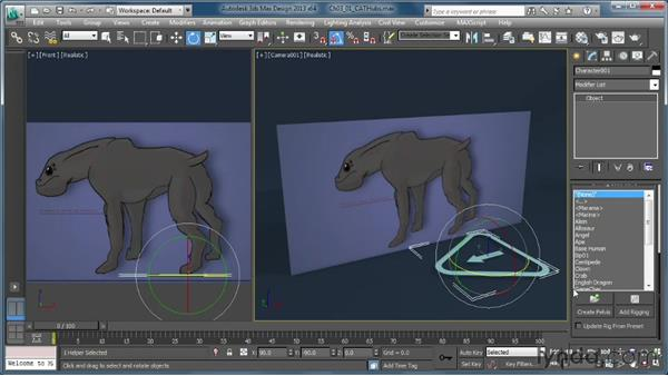 Understanding hubs: Getting Started with CAT Rigging Tools in 3ds Max