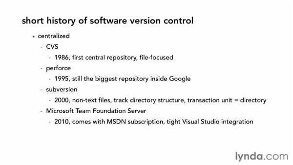The history of version control: Fundamentals of Software Version Control