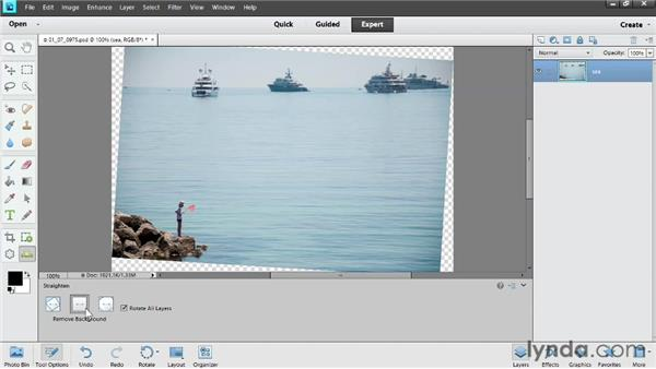Cropping: Photoshop Elements 11 Essentials: 02 Editing and Retouching Photos