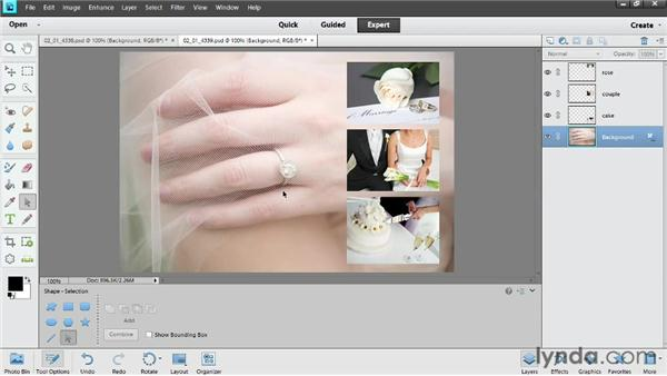 Understanding layers: Photoshop Elements 11 Essentials: 02 Editing and Retouching Photos