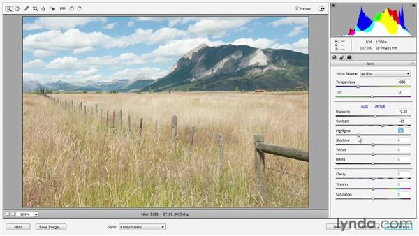 Adjusting lighting: Photoshop Elements 11 Essentials: 02 Editing and Retouching Photos
