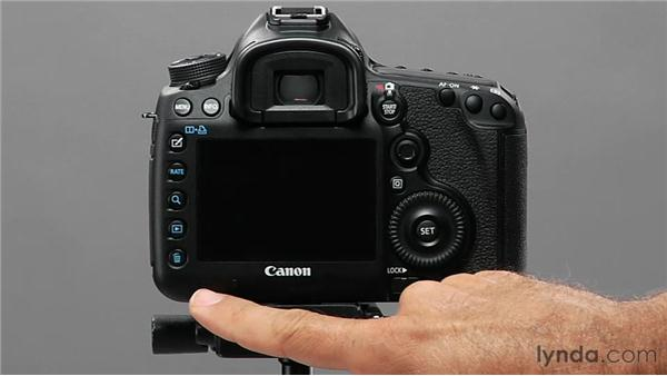 Exploring basic camera anatomy: Shooting with the Canon 5D Mark III