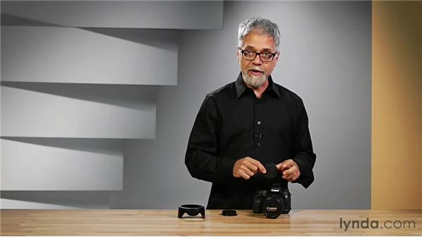 Attaching a lens to your camera: Shooting with the Canon 5D Mark III