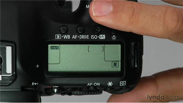 Exploring the top-mounted control buttons: Shooting with the Canon 5D Mark III