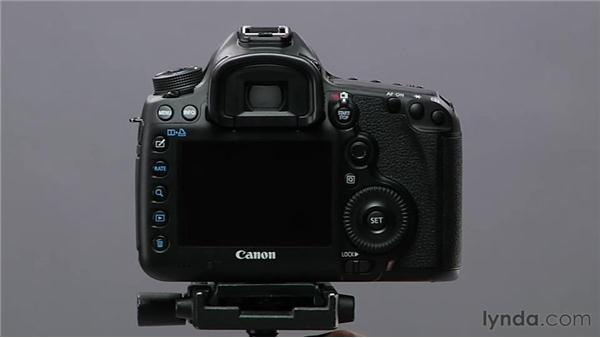 Using remote controls: Shooting with the Canon 5D Mark III