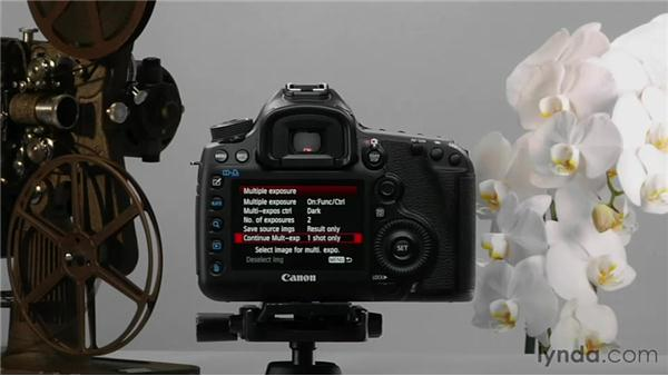 Creating multiple exposures: Shooting with the Canon 5D Mark III