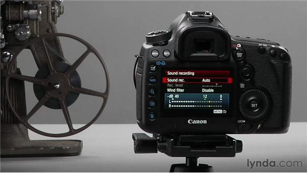 Shooting video in Auto and Program modes: Shooting with the Canon 5D Mark III
