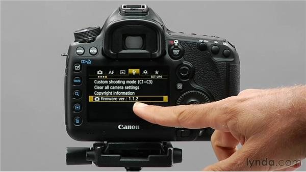 Getting firmware updates: Shooting with the Canon 5D Mark III