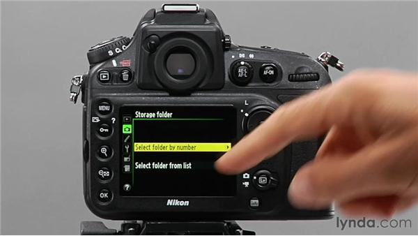 Working with menu navigation and factory defaults: Shooting with the Nikon D800