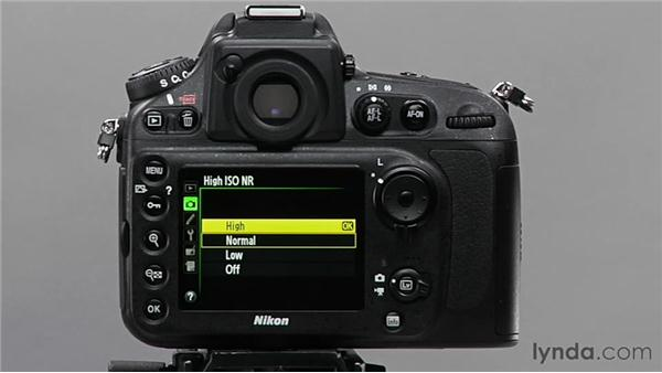 Using high ISO noise reduction: Shooting with the Nikon D800