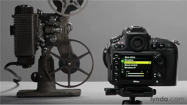 Configuring and activating video: Shooting with the Nikon D800