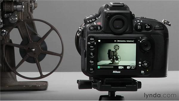 Using Playback mode: Shooting with the Nikon D800