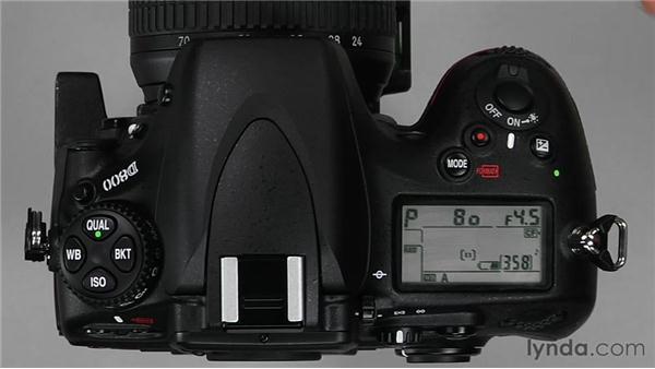 Customizing controls: Shooting with the Nikon D800