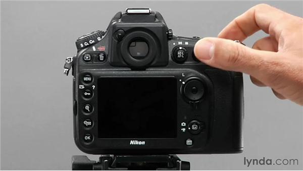 Using the AF Activation feature: Shooting with the Nikon D800