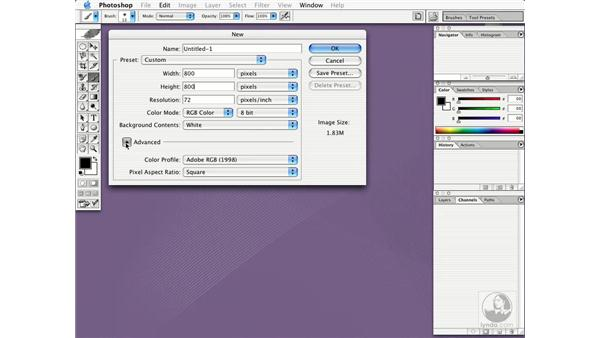 using the new dialog box: New in Photoshop CS