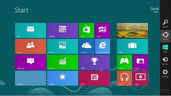 Welcome: Windows 8 Essential Training