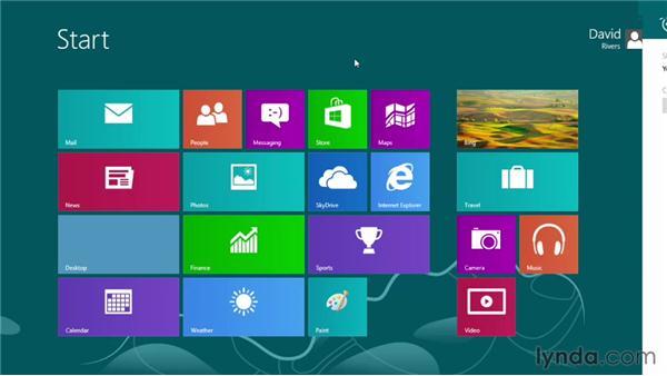 Personalizing Windows 8: Windows 8 Essential Training