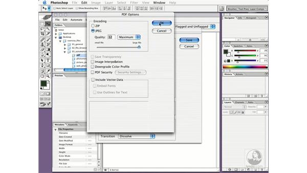 creating multi-page PDFs: New in Photoshop CS