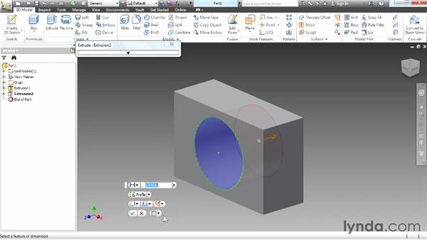 Introducing sketching: Up and Running with Autodesk Inventor