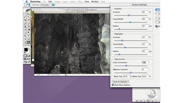 shadow/highlight adjustment: New in Photoshop CS