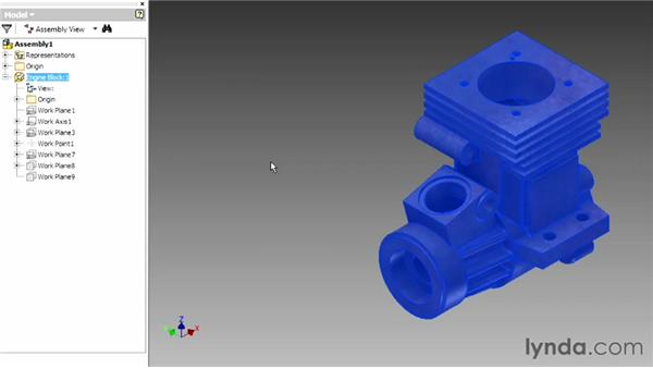 Placing components: Up and Running with Autodesk Inventor