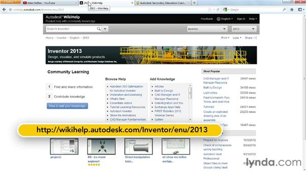 Next steps: Up and Running with Autodesk Inventor