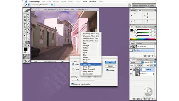 photo filter: New in Photoshop CS
