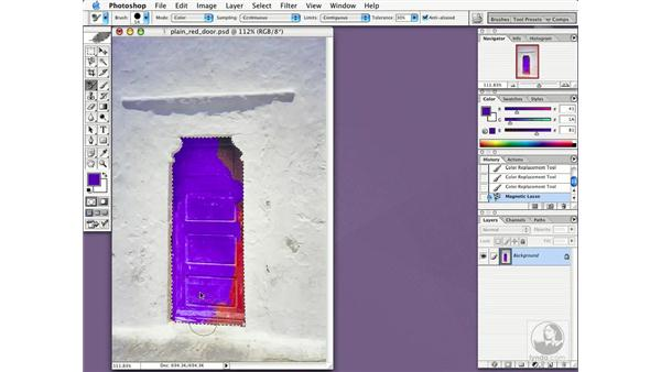 color replacement tool: New in Photoshop CS