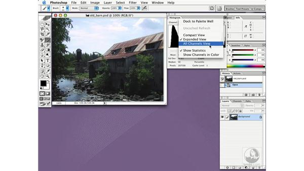 histogram palette: New in Photoshop CS