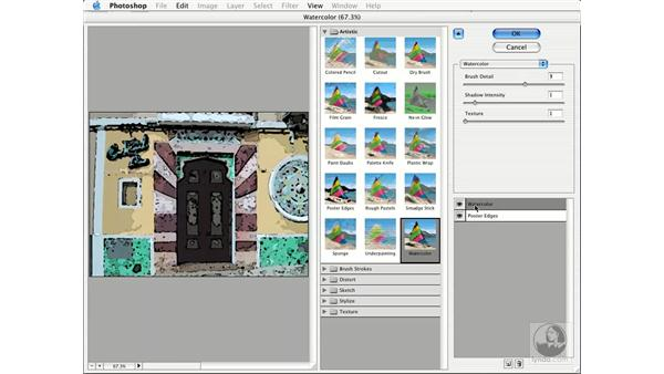 filter gallery: New in Photoshop CS