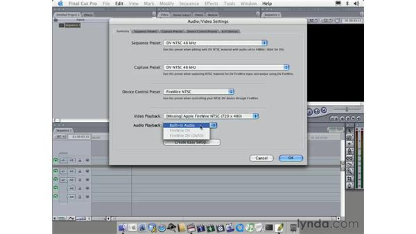 capturing part one: Learning Final Cut Pro 4