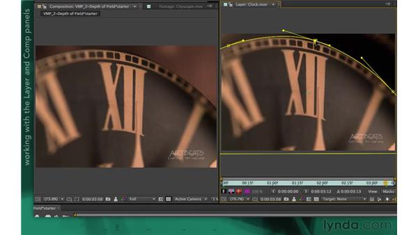 Exploring visual effects applications: After Effects Apprentice 05: Creating Transparency