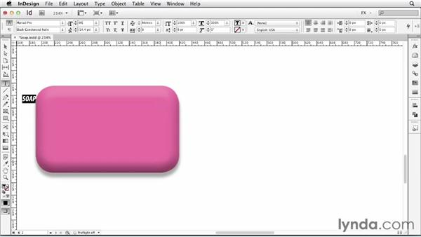 068 Making a 3D object: InDesign FX