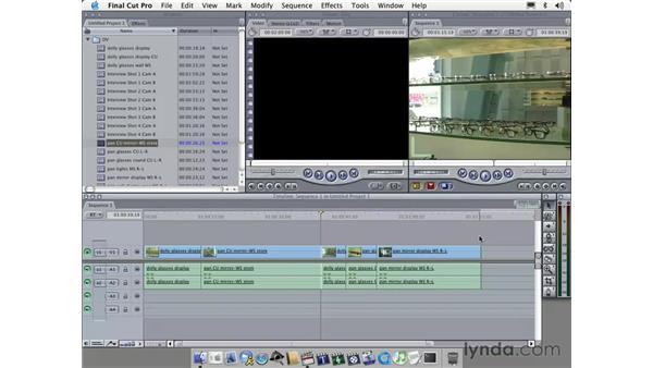handling footage: Learning Final Cut Pro 4
