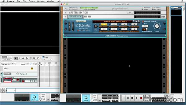 Making music with Dr. Octo Rex: Up and Running with Reason 6.5
