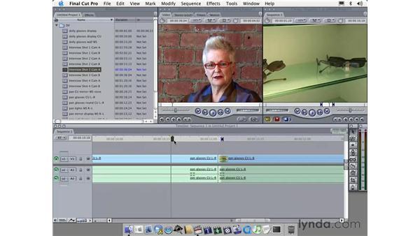ripple delete: Learning Final Cut Pro 4