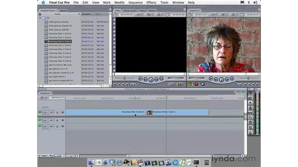 extend, select and trim edit keys: Learning Final Cut Pro 4
