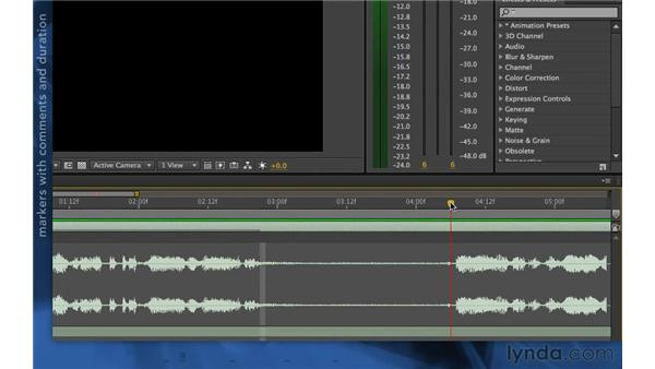 Spotting dialogue: After Effects Apprentice 06: Type and Music