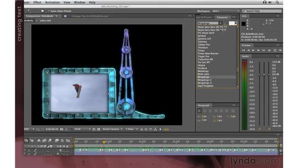 Arranging the frame: After Effects Apprentice 07: Parenting