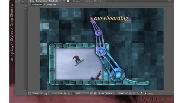 RoboTV: Finishing touches: After Effects Apprentice 07: Parenting