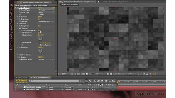 Working with block patterns: After Effects Apprentice 07: Parenting