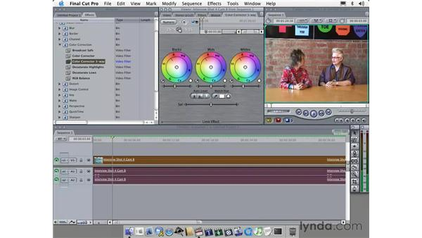 using filters: Learning Final Cut Pro 4