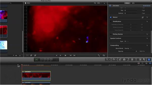 Using Final Cut Pro X to make looping backgrounds: Practical Motion Background Workshop
